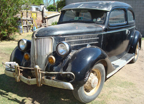 Auto Ford 1936 Two Door