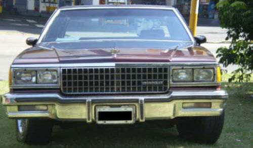 Car Chevrolet Caprice Classic