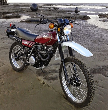 Motorcycle Yamaha XT 250
