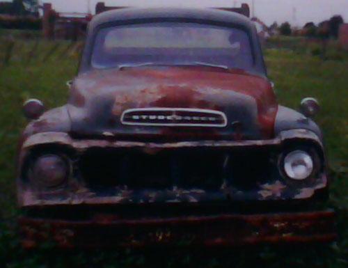 Auto Studebaker Transtar 1958