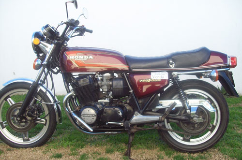 Motorcycle Honda 1978