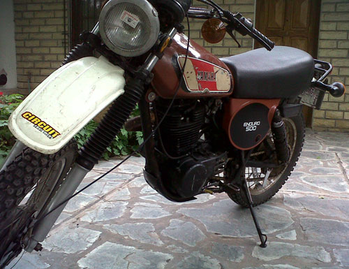 Yamaha XT 500 Motorcycle
