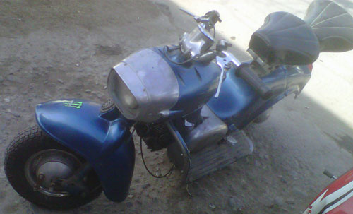 Rumi Formichino Motorcycle