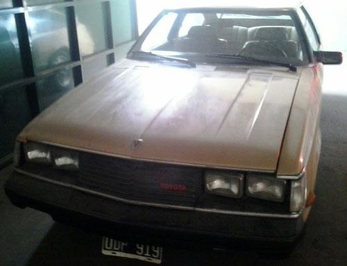 Auto Toyota Célica 1981