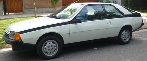 Auto Renault Fuego