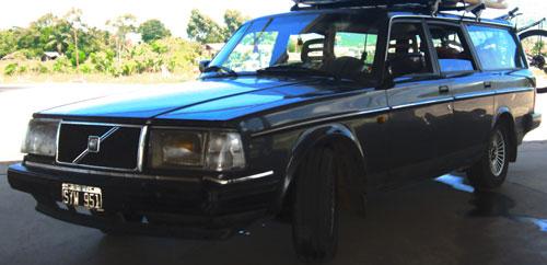 Car Volvo 240 GL