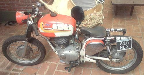Gilera Giubileo Motorcycle