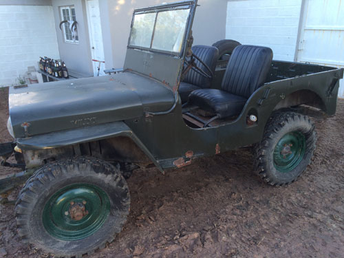 Car Willys 1943