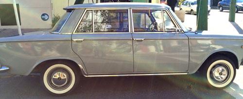 Auto Fiat Berlina 1500