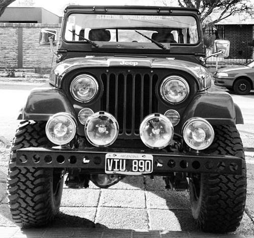 Car Jeep IKA 1957 4x4