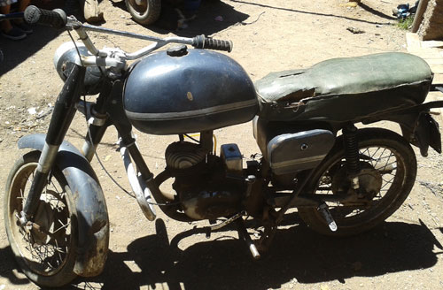 Motorcycle Puma 4ta. Serie
