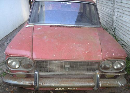 Car Fiat 1500 1965