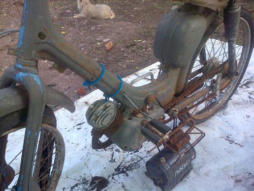 Motorcycle Siambretta Inoccenti