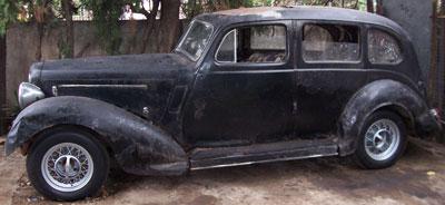 Auto Humber 1936