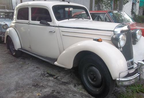 Car Mercedes Benz 1952 Hormiga Negra