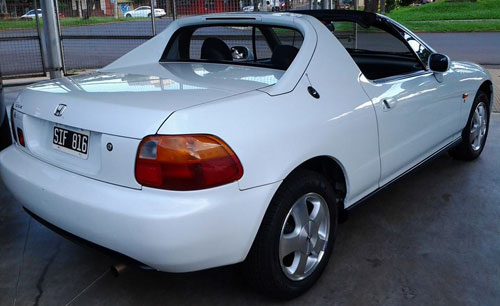 Car Honda CRX Del Sol