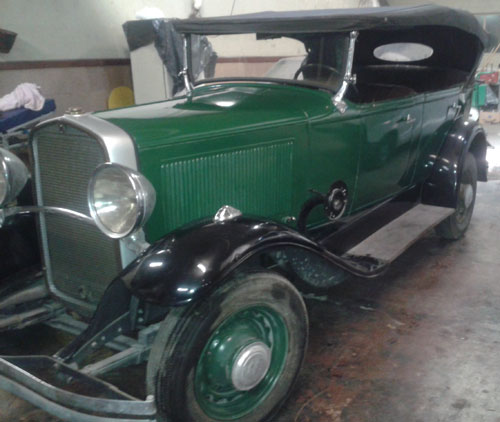 Car Durant 1929