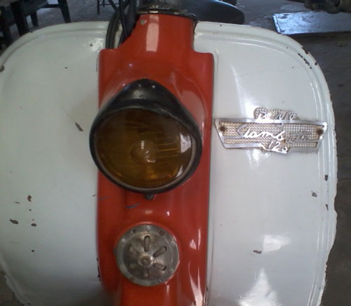 Motorcycle Siambreta 1961