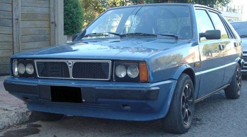 Car Lancia Delta