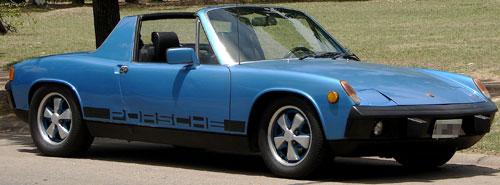 Car Porsche 914 1971