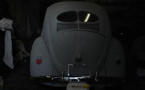 Car Volkswagen Escarabajo Split 1951