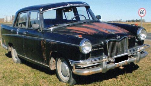 Auto Siam Di Tella 1960