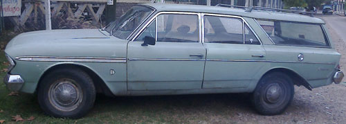 Auto IKA Rambler Classic Cross Country
