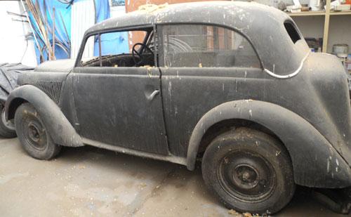 Auto Opel Olympia 1935