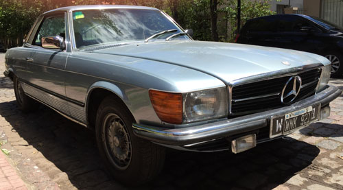 Car Mercedez Benz 1980