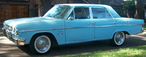 Car IKA Rambler Classic 660