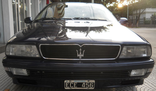 Car Maserati Quatroporte