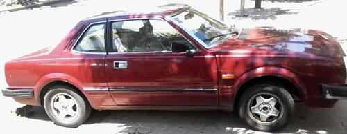 Car Honda 1982