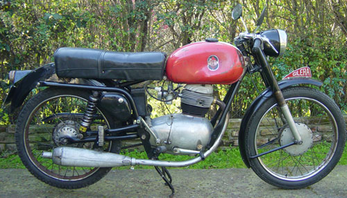 Motorcycle Gilera Super Sport