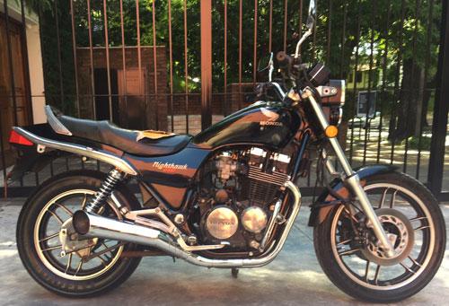 Moto Honda Nighthawk 650 CBS