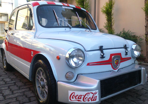 Car Fiat 600 Abarth 1000 TCR GR5