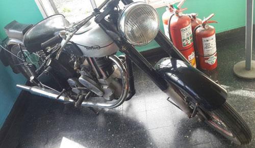 Moto Norton 1948