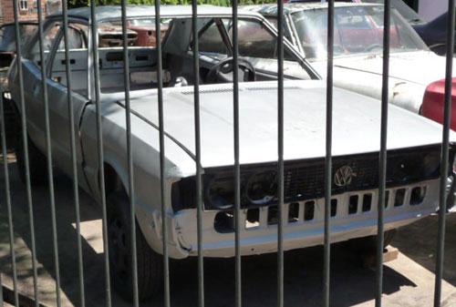 Car Volkswagen Sirocco