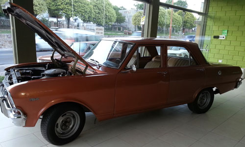 Car Chevrolet RS 1972