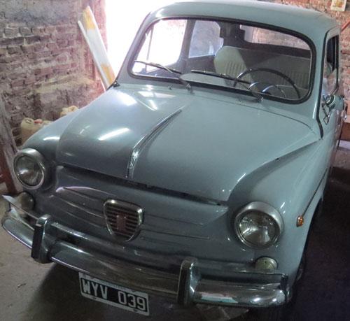 Auto Fiat 1967