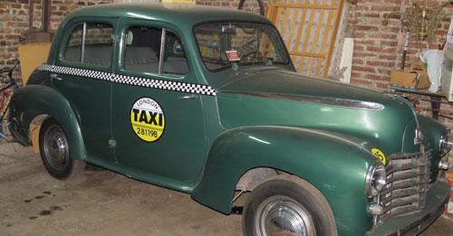 Car Vahuhall 1950
