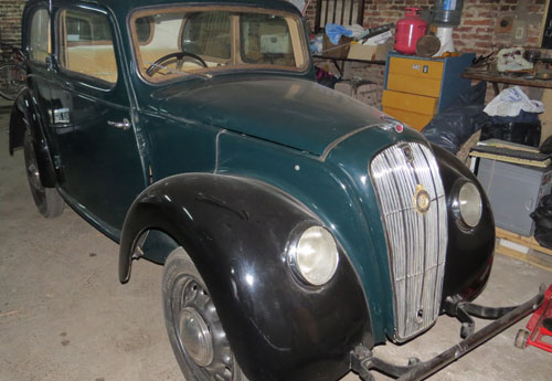 Auto Morris 1945