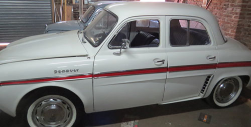 Auto Renault 1968