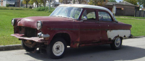 Car Ford 1954