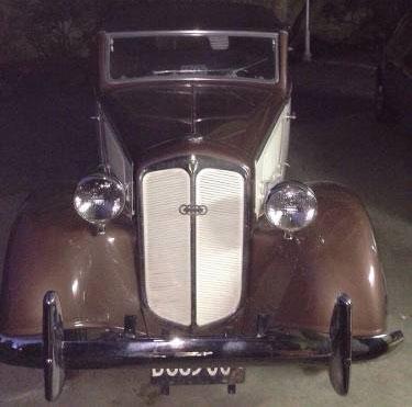 Auto DKW F5 Cabriolet
