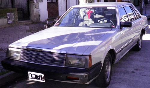 Car Datsun Nissan Laurel L 20