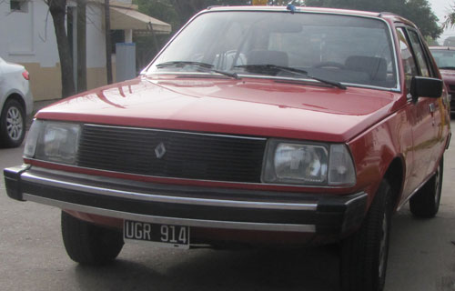 Car Renault 18 Junior 1984