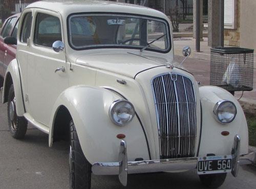 Car Morris 8 1947