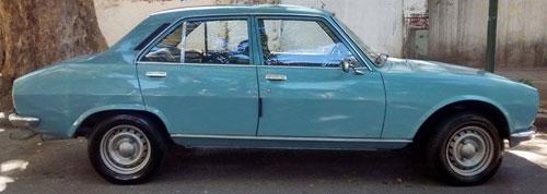 Car Peugeot 504 GL 1.8