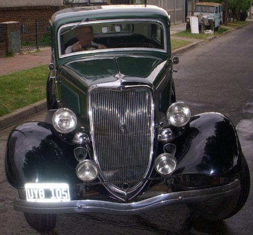 Car Ford 1934
