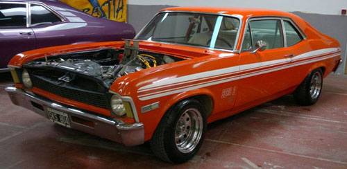 Car Chevrolet Chevy V8